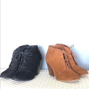 2 pairs! Call it Spring booties